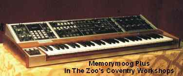 Memorymoog Plus repairs
