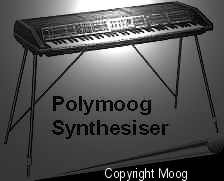 Polymoog keyboard repair